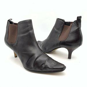 Donald J Pliner Womens Ankle Boots Brown Size 10 M